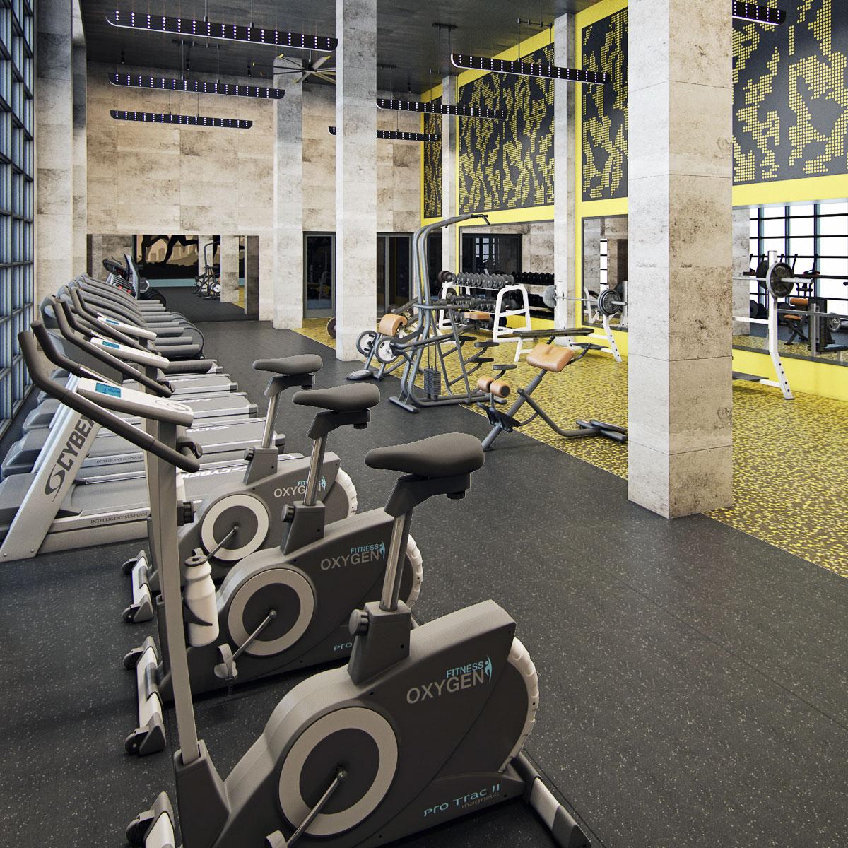 Fourth Street East Amenities - Gym