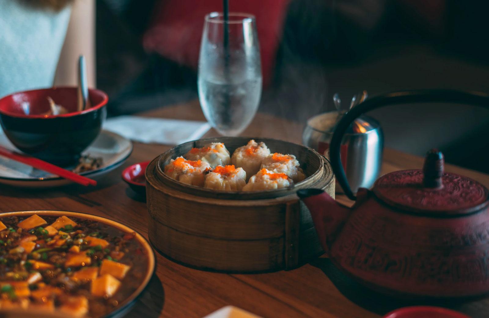 dimsum and oriental food