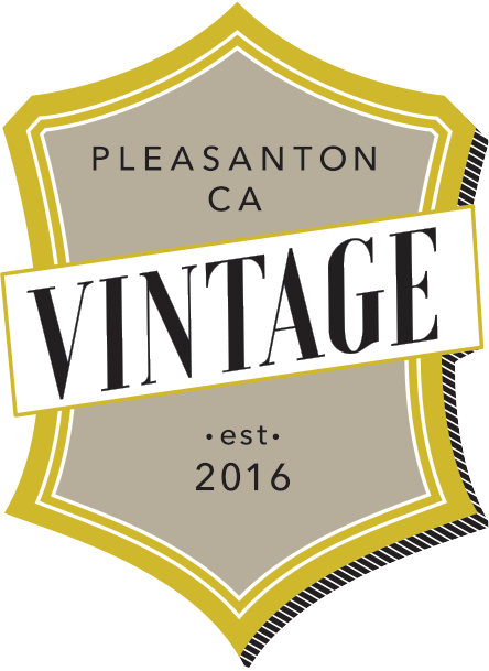 Vintage. Pleasanton, California.