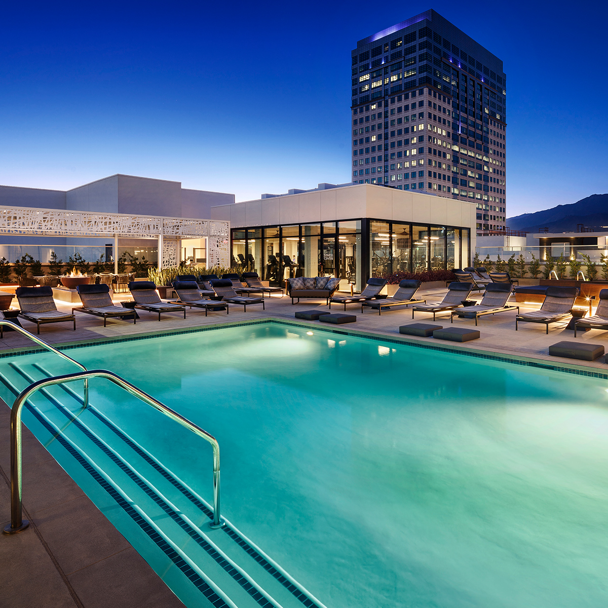 Altana Amenities - Rooftop Pool And Spa