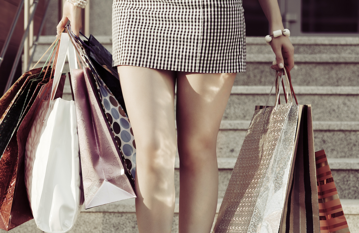 Altana - Woman with Shopping Bags