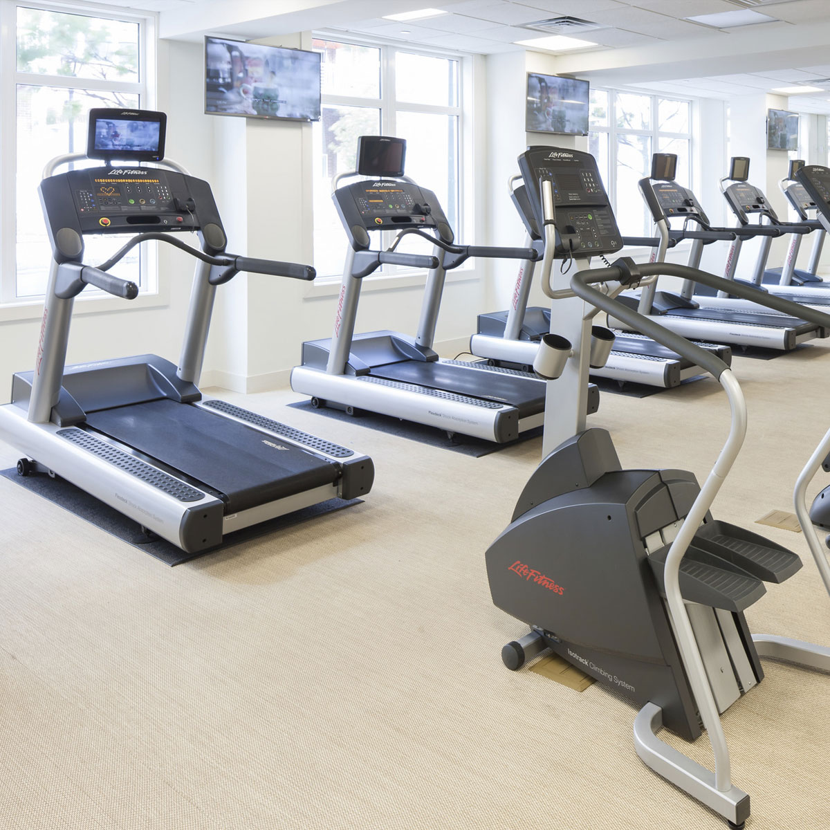 The Waypointe Apartments Amenities - Fitness Center