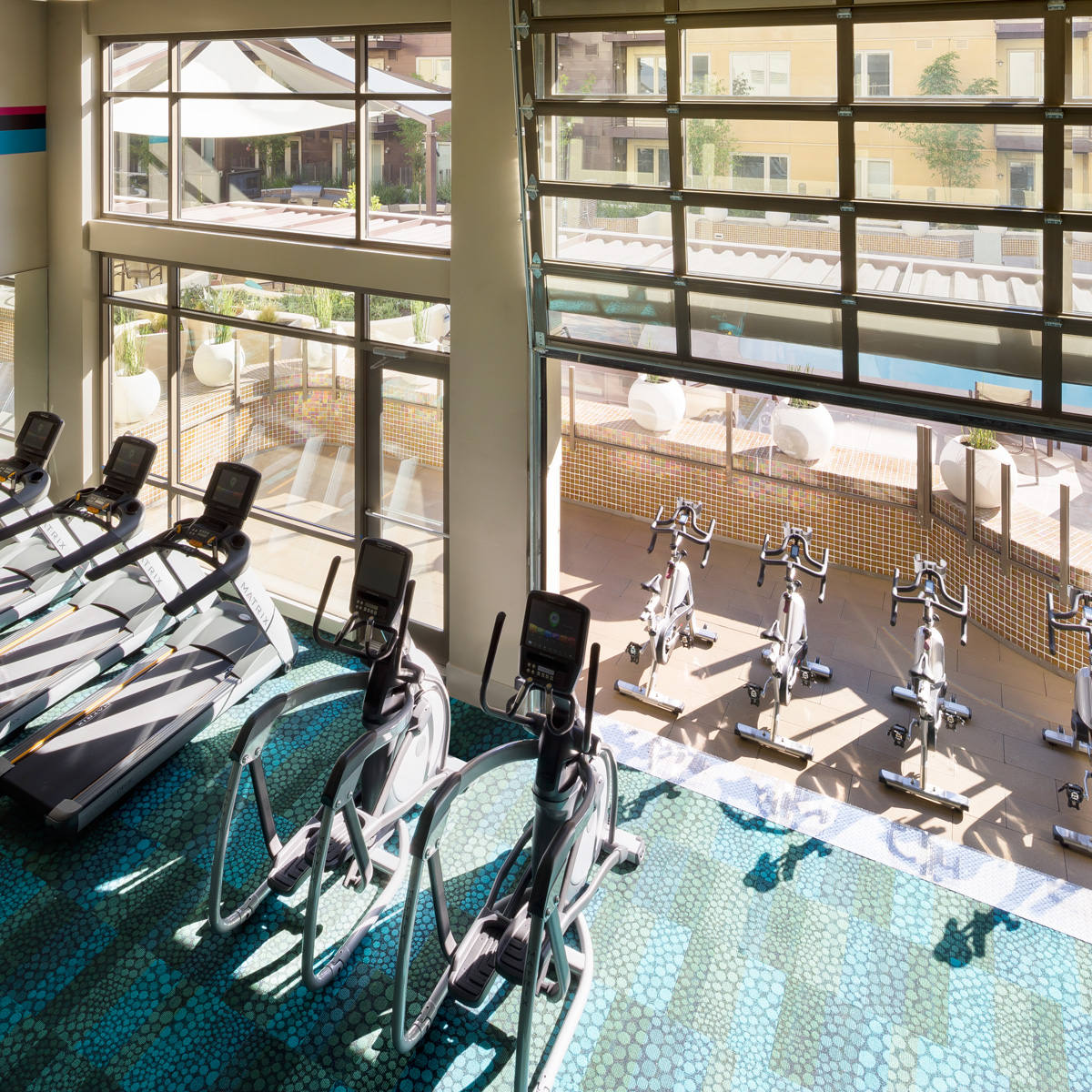 The Village Residences Amenities - Gym And Yoga Studio