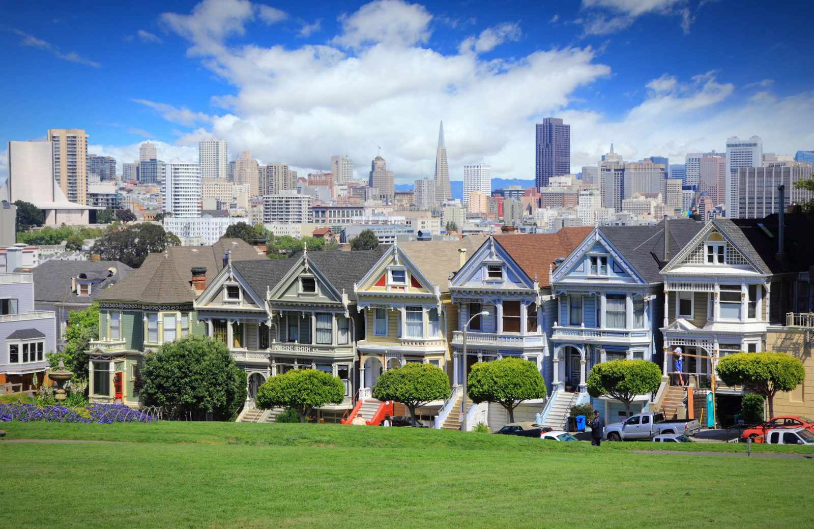 San Francisco Painted Ladies - The Towers at Rincon Apts