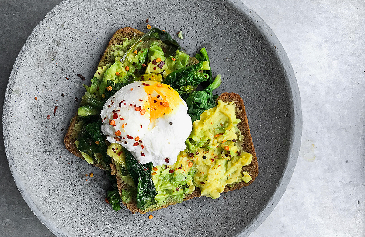 Avocado Toast and Egg
