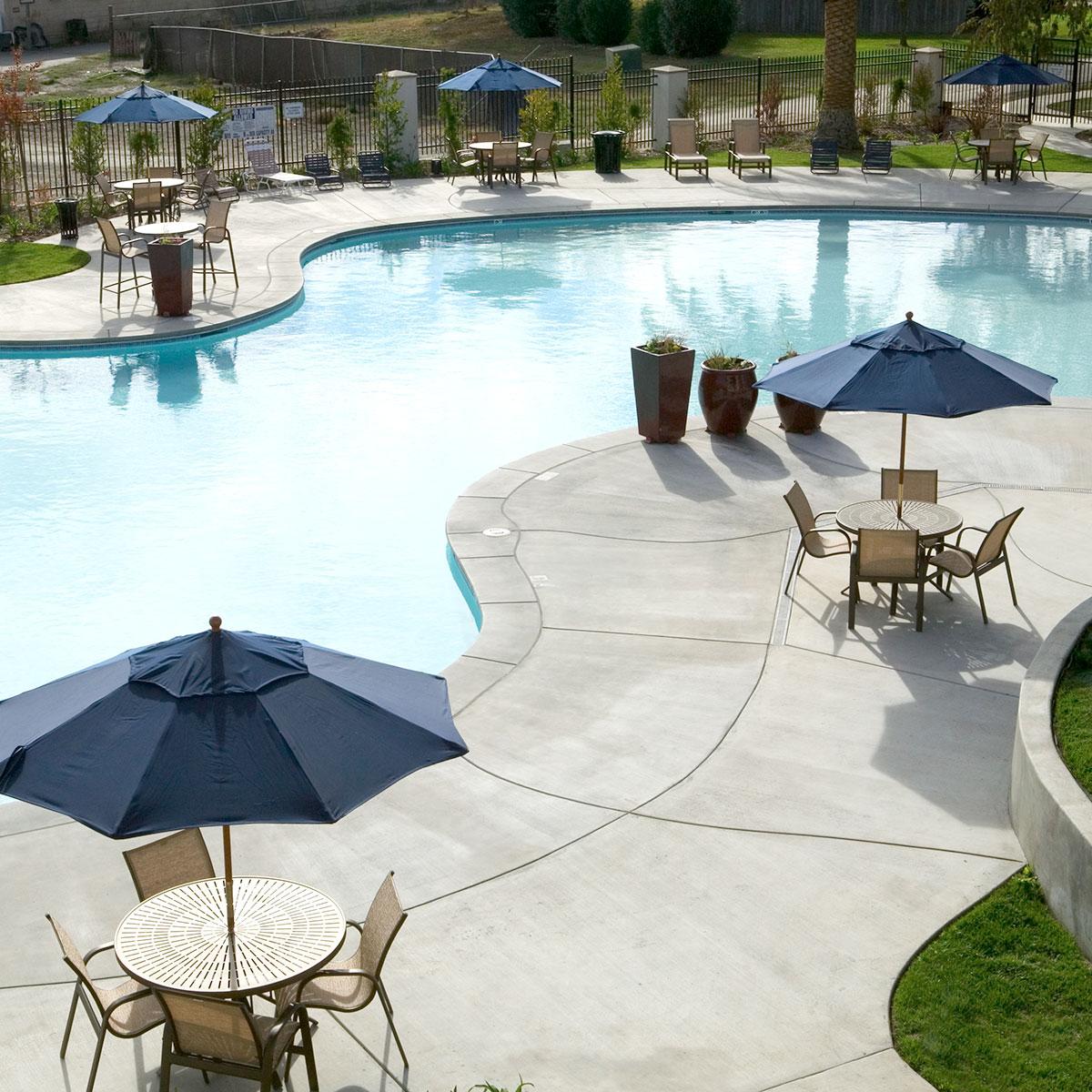 resort pool & spa  - Amenities at The Arbors - homes for rent Antelope CA