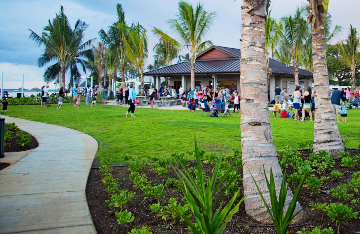 Food and Drinks on the Beach - Ewa Beach Hawaii - West Oahu