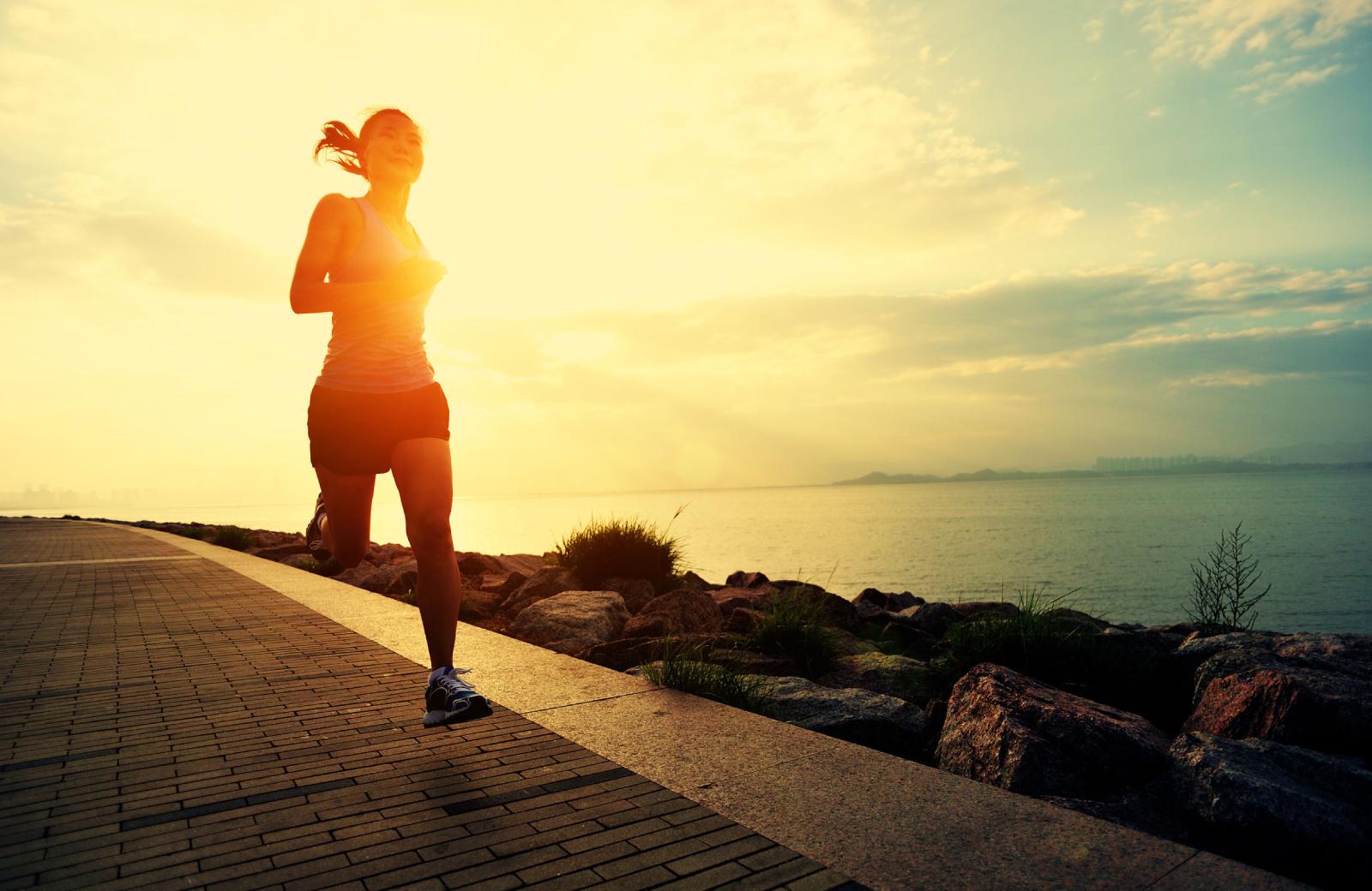 The Waypointe - Woman Jogging