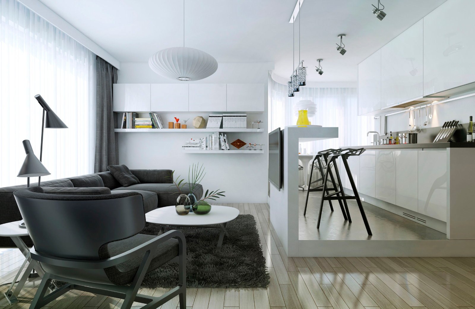 Inspiring Decorating Ideas for a Studio Apartment