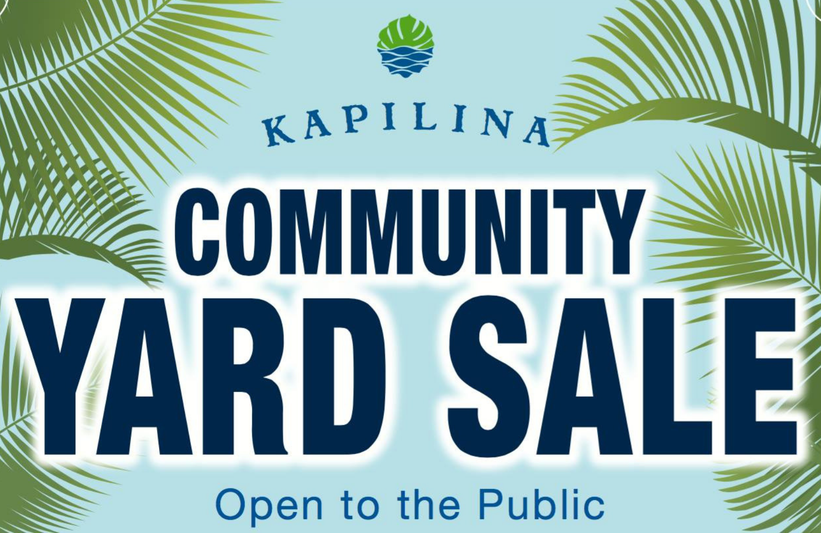 kapilina yard sale