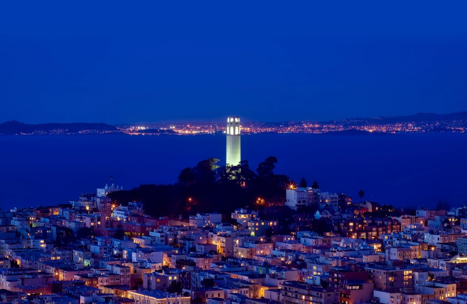 coit tower san francisco towers at rincon