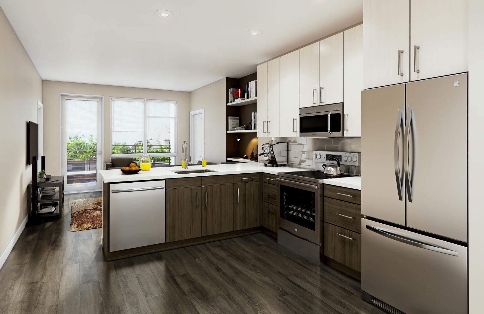 interiors at colab apartments