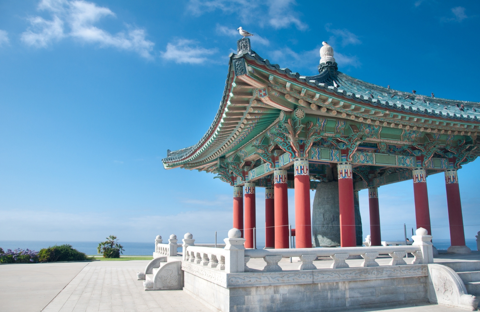 korean friendship bell san pedro ca the vue