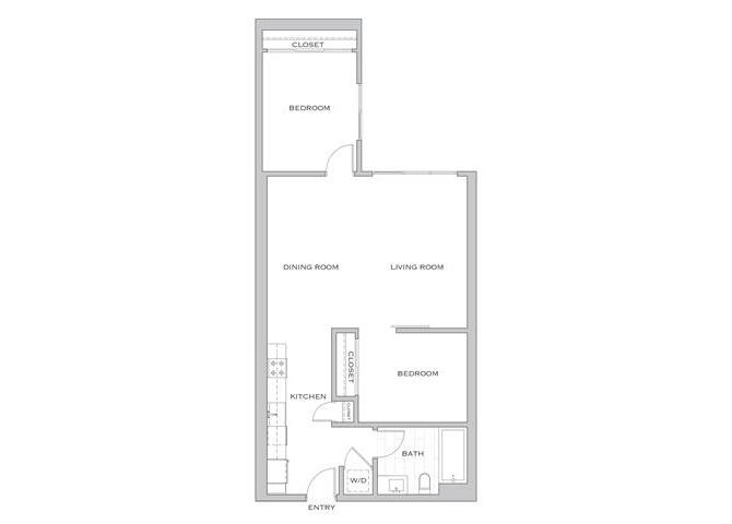 Eighth Amp Grand Floorplans 1 2 Amp 3 Bedroom Luxury Apts Dtla