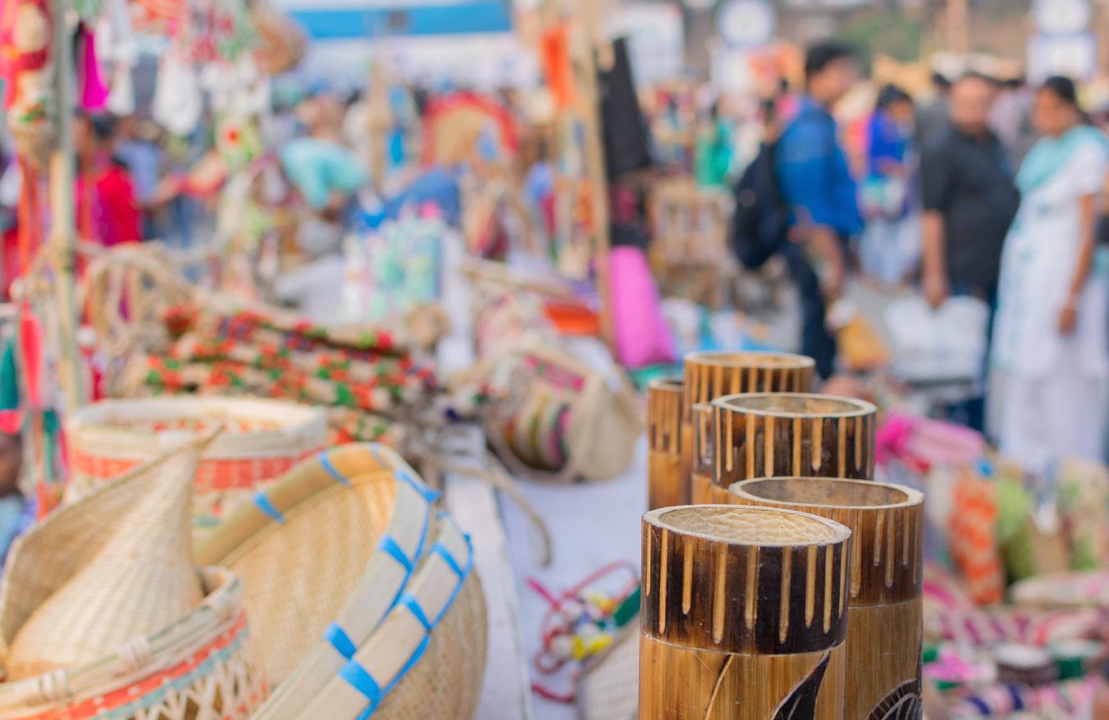 artifacts in an art fair
